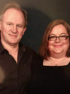 Heather and Peter Davison