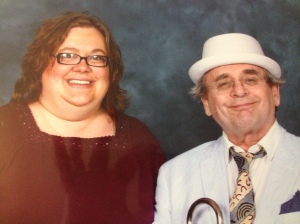 Heather and Sylvester McCoy
