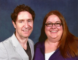 Heather and Paul McGann