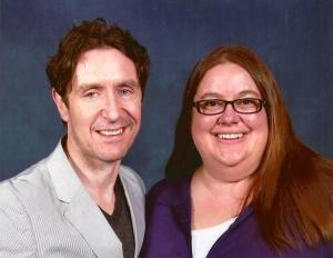 Heather and Paul McGann