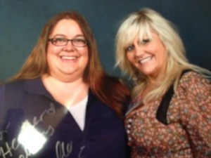 Heather and Camille Coduri